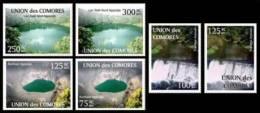 cm11201a Comores 2011 Karthala Ngazidja Volcano Tratringa Anjouan Lac Sal� Nord Ngazidja Water 6v