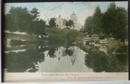 Top Rare Friar Park Henley On Thames Castle Manor Publ Sidney Higgins Voyagé 1915 Timbre Belgique - Oxford