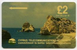 PHONECARD : CYPRUS TELECOMMUNICATIONS AUTHORITY £2 - Cyprus