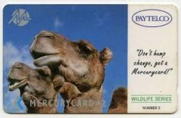 PHONECARD : MERCURYCARD / PAYTELCO £2 - WILDLIFE SERIES NUMBER 3 - Mercury Communications & Paytelco