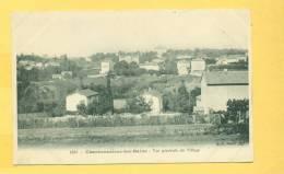 Charbonnières-les-Bains - Canton De Vaugneray - Vue Générale Du Village - Rhône  Dép.69  N° 1545 - Charbonniere Les Bains