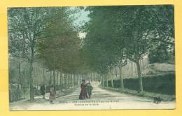 Charbonnières-les-Bains - Canton De Vaugneray - Avenue De La Gare - Rhône  Dép.69  N° 318 - Charbonniere Les Bains