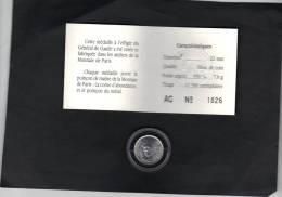 Médaille Argent Monnaie De Paris Général De Gaulle Fleur De Coin Diamètre 22 Mm Poids Argent 950 °/00 7,0 G - France