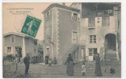 07 // BEAUCHASTEL   Place De L'église   951 C Artige Edit - Other Municipalities