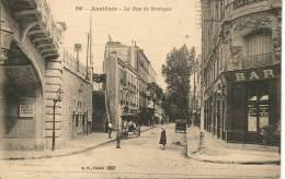 ASNIERES - LA RUE DE BRETAGNE - Asnieres Sur Seine