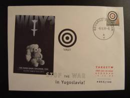 STOP THE WAR IN YUGOSLAVIA BELGRAD BEOGRAD CONSEIL DE L´EUROPE EUROPA PARLAMENT NUMEROTE TIRAGE LIMITE COUNCIL OF EUROPE - Yugoslavia