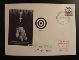 STOP THE WAR IN YUGOSLAVIA BELGRAD BEOGRAD CONSEIL DE L´EUROPE EUROPA PARLAMENT NUMEROTE TIRAGE LIMITE COUNCIL OF EUROPE - Unclassified