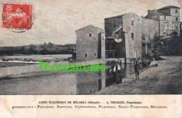 CPA 34 USINE ELECTRIQUE DE BELARGA A TRICOCHE DESSERVANT PAULHAN ASPIRAN CAMPAGNAN PLAISSAN SAINT PARGOIRE BELARGA - Autres Communes