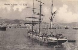 Genova - Veduta Dal Mare - Genova