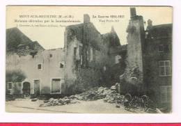 MONT-SUR-MEURTHE ( Meurthe-et-Moselle  )  Maisons Détruites ...... - Frankrijk