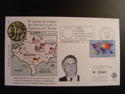 SERBIE MONTENEGRO ALBANIE KOSOVO MACEDOINE  CONSEIL DE L´EUROPE EUROPA PARLAMENT NUMEROTE TIRAGE LIMITE  COUNCIL  EUROPE - Serbia