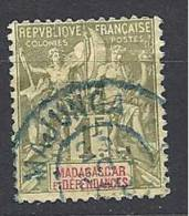 MADAGASCAR    N� 40 OBL MAJUNGA TTB