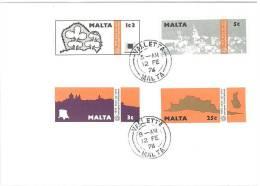 MALTA - FDC - ANNO 1976 - ARCHITETTURA - Malte