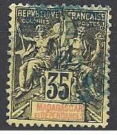 MADAGASCAR    N� 46 OBL  TTB