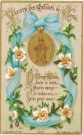 """IMAGE PIEUSE Bouasse N° 3475 :  """"  Fleurs Des Enfants De Marie ... """" - Andachtsbilder"""