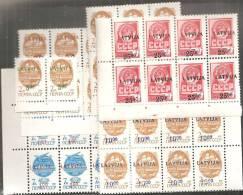 Lettonia 1992 Nuovo** - Mi. 335/39  8x - Lettonia