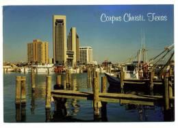 CPM - TEXAS - CORPUS CHRISTI - (bâteaux De Pêche) - Corpus Christi