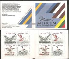 Lettonia 1992 Nuovo** - Mi. MH 1 Con Banda Nera - Lettonia