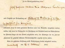 IESTETTEN BADE 1853 - Baden