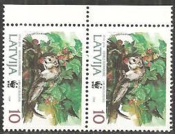 Lettonia 1994 Nuovo** - Mi. 379 Coppia; Non Completa - Lettonia
