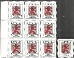 Lettonia 1997 Nuovo** - Mi. 371 AIII  10x - Lettonia