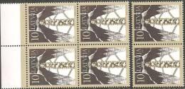 Lettonia 1997 Nuovo** - Mi. 450 Quartina+2 - Lettonia