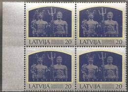 Lettonia 1997 Nuovo** - Mi. 458 Quartina - Lettonia