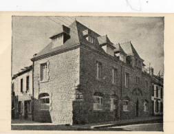 SCAER (29) Carte De Visite Publicitaire Hotel Brizeux - Cartes De Visite