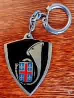 Ancien Porte-clé Des Anciens Chasseurs Alpins De Clermont-Ferrand (années 60) - Army