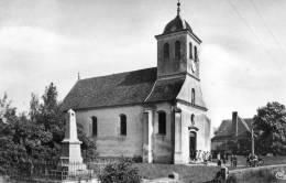 """CHARETTE    (ca Pierre Bresse) """"église Et Monument Aux Morts"""" - France"""