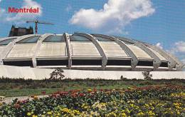 Flower Garden, Exterior View, Stadium Of The XXIst Olympiads, Montreal, Quebec, Canada, PU-1986 - Montreal
