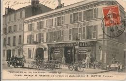 Cpa77 Fontainebleau Magasin J Gatie Frères - Fontainebleau