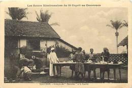 Afrique - Africa - Cameroun - Ref A521- Missionnaires - Yaoundé - Groupe De Fiancées  A La Lessive   -carte Bon Etat - - Cameroun
