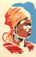 Afrique - Africa - Cameroun - Ref A519- Dessin Illustrateur -exposition Coloniale 1931- Cameroun   -carte Bon Etat - - Cameroun