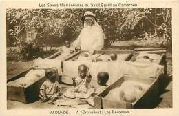 Afrique - Africa - Cameroun - Ref A512- Soeurs Missionnaires Du Saint Esprit Au Cameroun -orphelinat  - Carte Bon Etat - - Cameroun