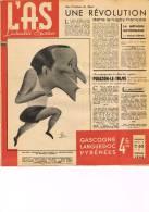 L´As L´actualité Sportive-Gascogne,Langued Oc,Pyrénées-Rugby:Méthode Bayonnaise-Faux Départs-Sport Olympien Toulousain - 1900 - 1949