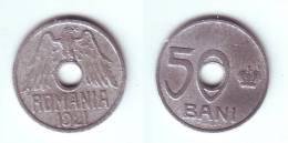 Romania 50 Bani 1921 - Rumania