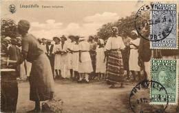 Afrique - Africa - Congo - Ref A491- Leopoldville - Danses- Danse -edition  Nels   -carte Bon Etat - - Kinshasa - Léopoldville
