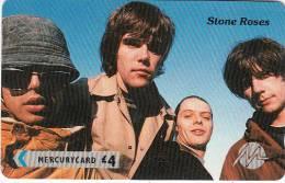 UK - Stone Roses, CN : 1PPSC, Tirage 13689, Mint - United Kingdom