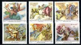 1206  Austria  1968   Mi.#1278-83  (**)  Sc.# 824-29 - 1961-70 Ungebraucht