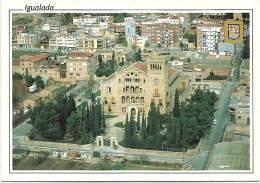 Nº17 IGUALADA(BARCELONA) VISTA AÈREA - ASIL DEL SANT. CRIST. - Barcelona