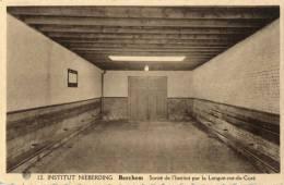 BELGIQUE - ANVERS - ANTWERPEN -BERCHEM - Institut Nieberding - Sortie De L´intitut Par La Longue Rue Du Curé. - Antwerpen
