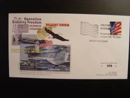 WAR AGAINST TERRORISM USS KITTY HAWK CONSEIL DE L´EUROPE EUROPA PARLAMENT NUMEROTE TIRAGE LIMITE - Afghanistan