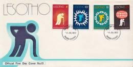 Lesotho Set On FDC - Lesotho (1966-...)