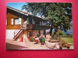 CPSM 74 SITUE DANS UN CADRE ENCHANTEUR FACE AU MONT BLANC   HOTEL DES ROCHES FLEURIES  CORDON   ANIMEE  NON VOYAGEE - Autres Communes