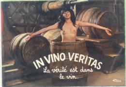 IN VINO VERITAS - LA VERITE EST DANS LE VIN CIRCA 1970 VINO WINE - Wijnbouw