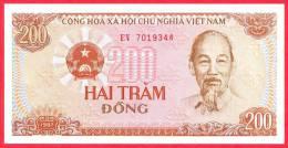 Vietnam 200 Dong - UNC - 1987 - Banknote / Papier Monnaie - Billet - Viet-Nam - Viêt-Nam