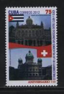 Cuba MNH 2012  Relations With Switzerland - Cuba