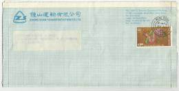 HIONG KONG 1989 AIR MAIL USED COVER - 1997-... Chinese Admnistrative Region