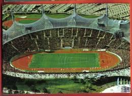 Foot012  Deutschland Germany   Munich München Olympia Stadion .  Gelaufen - Athletics